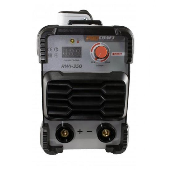 Aparat sudura Invertor MMA Procraft RWI 350, Industrial, Tranzistori IGBT + Masca, Model 2020