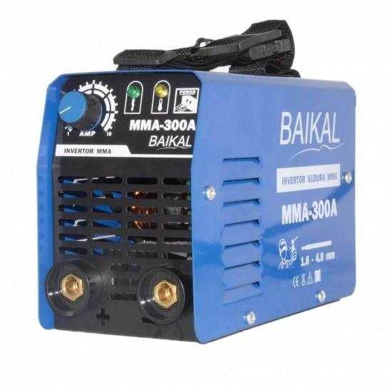 Drujba model rusesc Baikal BP-3400, 3.9 CP, lungime lama 40 cm  +  Invertor aparat sudura Baikal 300A, 300Ah, MMA