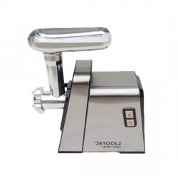 Masina electrica inox de tocat carne, DeToolz,DZ-CB101,1400W, accesorii incluse