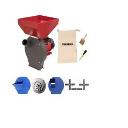 Moara cu ciocanele 4 in 1, Pandora, 3.8Kw, 200kg/h, cuva mare, 100% cupru