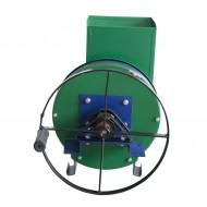 Razatoare manuala cu fulie pentru legume si fructe, disc inox, 140 kg/h