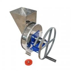 Razatoare manuala cu fulie pentru tocat radacinoase, legume si fructe, total din inox, 200 kg/h