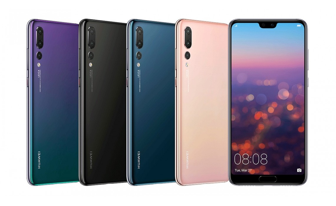 Huawei a lansat P20 Pro, P20 si P20 Lite
