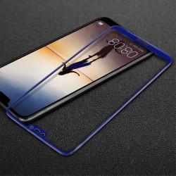 Sticla securizata protectie ecran pentru Huawei P20 Lite, albastra