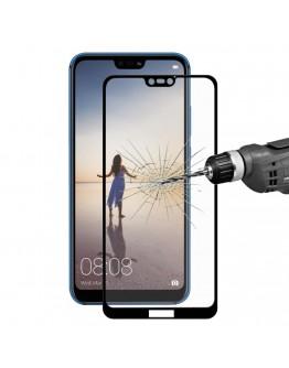 Sticla securizata protectie ecran 0.26mm pentru Huawei P20 Lite, neagra