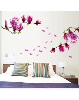 "Sticker perete ""Flori de magnolie"""
