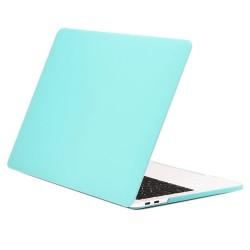 "Carcasa protectie slim din plastic pentru MacBook Pro  13.3"" 2016 / Touch Bar, albastra"