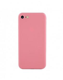 Carcasa protectie spate din plastic 0.4 mm pentru iPhone 7/ iPhone 8, roz