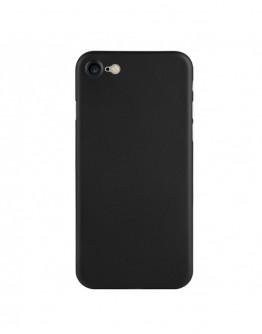 Carcasa protectie spate din plastic 0.4 mm pentru iPhone 7/ iPhone 8, neagra