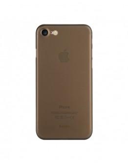 Carcasa protectie spate din plastic 0.4 mm pentru iPhone 7/ iPhone 8, gri