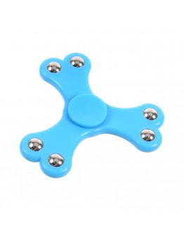 Jucarie antistres Fidget Spinner cu 6 bile, albastru