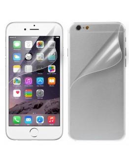 """Pachet 2 folii protectie ecran + spate pentru iPhone 6 Plus 5.5"""""""