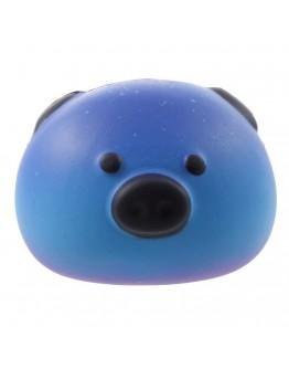 Pachet squishy porcusor si dintisor albastru