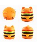 Jucarie squishy cu revenire lenta, hamburger