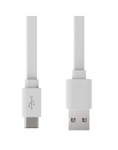 Cablu de sincronizare si incarcare TYPE C - USB, alb