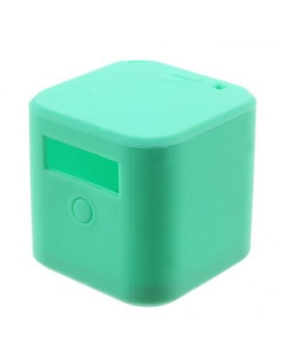 Carcasa protectie silicon pentru camera sport GoPro Hero 4 - verde