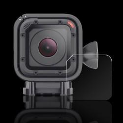 Pachet 2 folii protectie lentile pentru camera sport GoPro Hero 4 Session