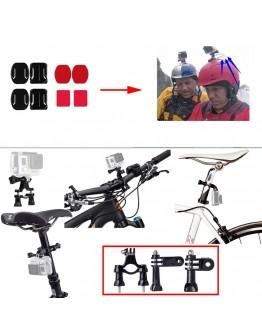 Kit 10 in 1 accesorii pentru camere sport