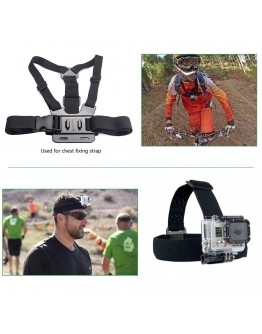 Kit 23 in 1 accesorii pentru camere sport