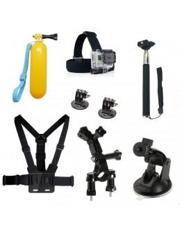 Kit 8 in 1 accesorii pentru camere sport