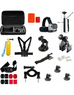 Kit 35 in 1 accesorii pentru camere sport