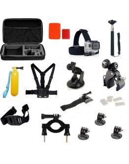 Kit 27 in 1 accesorii pentru camere sport