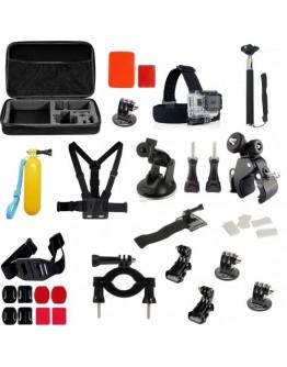 Kit 39 in 1 accesorii pentru camere sport