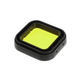 Filtru pentru camere sport GoPro Hero 3+ - galben