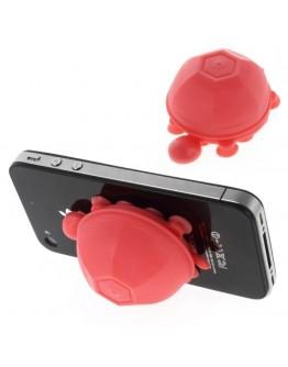 Suport 3D din silicon pentru telefon - roz