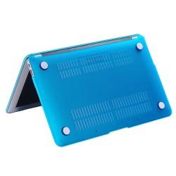 """Carcasa protectie slim din plastic pentru MacBook Air 11.6"""", albastru deschis"""