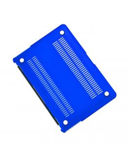 "Carcasa protectie slim din plastic pentru MacBook Air 11.6"", albastru inchis"