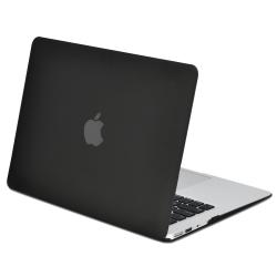 "Carcasa protectie slim din plastic pentru MacBook Air 11.6"", neagra"