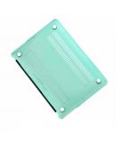 "Carcasa protectie slim din plastic pentru MacBook Air 11.6"", verde deschis"