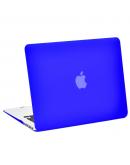 "Carcasa protectie slim din plastic pentru MacBook Air 13.3"", albastru inchis"