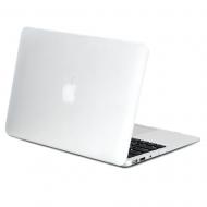 "Carcasa protectie slim din plastic pentru MacBook Air 13.3"", transparenta"