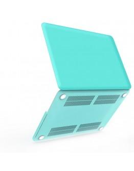Carcasa protectie din plastic pentru MacBook Pro Retina 15.4 inch, albastra