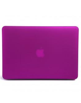 Carcasa protectie din plastic pentru MacBook Pro Retina 15.4 inch, mov