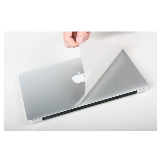 """Folie protectie aspect aluminiu pentru Macbook Pro Retina 13.3"""""""