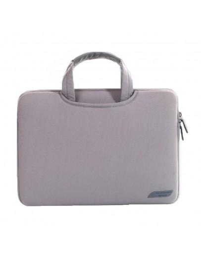Husa protectie pentru MacBook 15.4 inch, gri