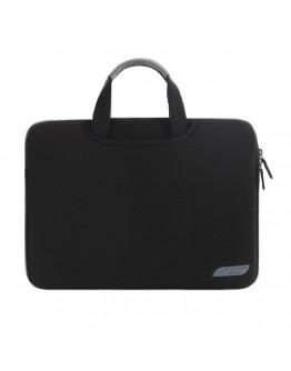 Husa protectie pentru MacBook 15.4 inch, neagra
