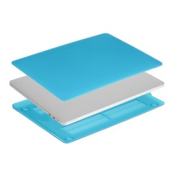 """Carcasa protectie slim din plastic pentru MacBook Pro  15.4"""" 2016 / Touch Bar, albastru deschis"""