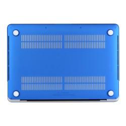 "Carcasa protectie slim din plastic pentru MacBook Pro  13.3"" 2016 / Touch Bar, albastru inchis"