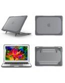 """Carcasa protectie spate cu suport pentru MacBook Pro 13.3"""" 2016/ Touch Bar, gri"""