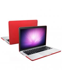 """Carcasa protectie slim din plastic pentru MacBook Pro 13.3"""" (Non-Retina), rosie"""