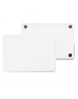 "Carcasa protectie slim din plastic pentru MacBook White Unibody 13.3"", transparenta"