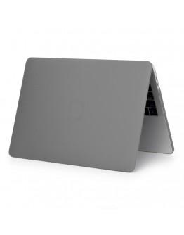 """Pachet carcasa de protectie si folie tastatura pentru Macbook Pro 15.4"""" Touch Bar, gri"""