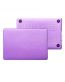 "Carcasa protectie slim din plastic pentru MacBook Pro 15.4"" (Non-Retina), mov"