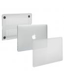 "Carcasa protectie slim din plastic pentru MacBook Pro 15.4"" (Non-Retina), transparenta"