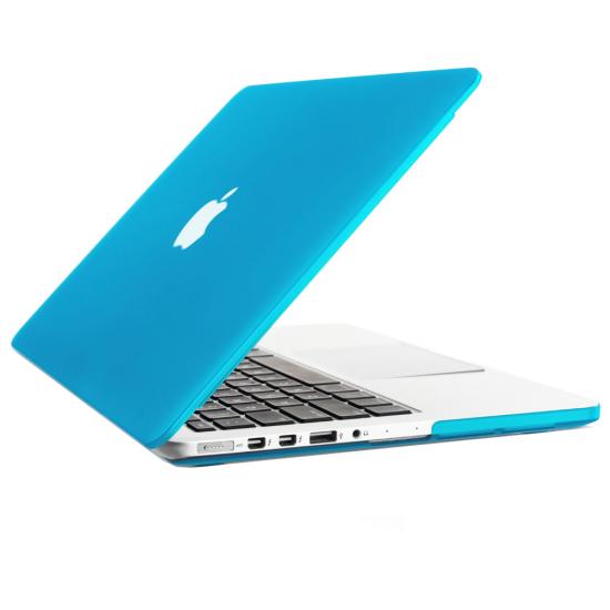"""Carcasa protectie slim din plastic pentru MacBook Pro 15.4"""" (Non-Retina), albastru deschis"""