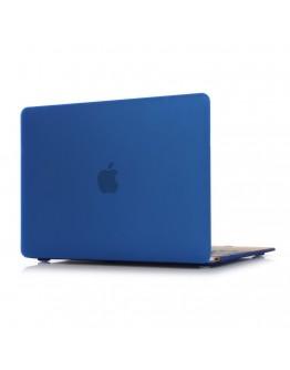 "Carcasa protectie slim din plastic pentru MacBook Retina 12"", albastru inchis"